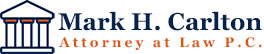 Mark Carlton Attorney At Law Logo